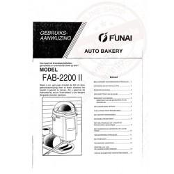 Funai gebruiksaanwijzing fab-2200(ii)