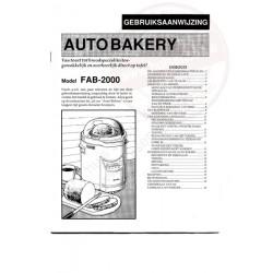 Funai gebruiksaanwijzing fab-2000