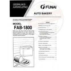 Funai gebruiksaanwijzing fab-1800
