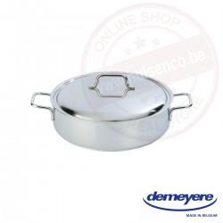 Demeyere apollo lage kookpot ø28 cm - met deksel