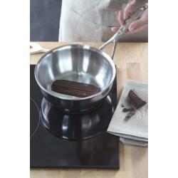 Demeyere atlantis conische sauspan ø24cm 3.3l met gietrand