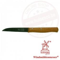 Molenmes 85mm (1707) houten handvat - roestvrijstaal