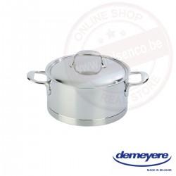 Demeyere atlantis kookpot ø20cm 3.0l - met deksel