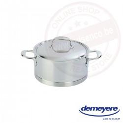 Demeyere atlantis kookpot ø18cm 2.2l - met deksel