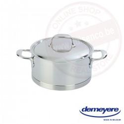 Demeyere atlantis kookpot ø22cm 4.0l - met deksel