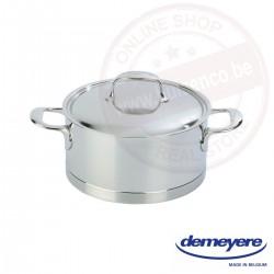 Demeyere atlantis kookpot ø24cm 5.4l - met deksel