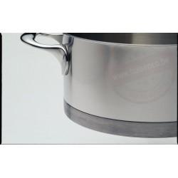 Demeyere atlantis kookpot ø16cm 1.5l - met deksel
