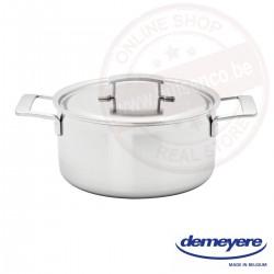 Demeyere industry kookpot ø24cm 5.2l - met deksel