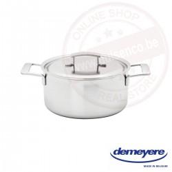 Demeyere industry kookpot ø18cm 2.2l - met deksel