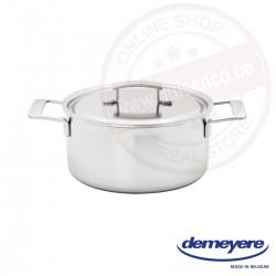 Demeyere industry kookpot ø20cm 3.0l - met deksel