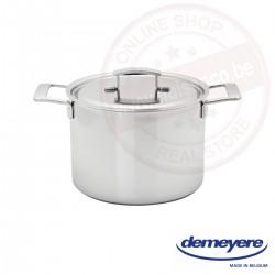 Demeyere industry soeppot ø24cm 8.0l - met deksel