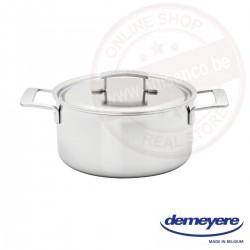 Demeyere industry kookpot ø22cm 4.0l - met deksel