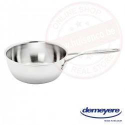 Demeyere industry conische sauspan ø24cm 3.3l - zonder deksel