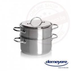 Resto by Demeyere stomer-set 20cm - kookpot+stomer - met deksel
