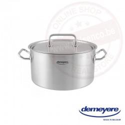 Commercial by Demeyere kookpot met deksel 30 cm