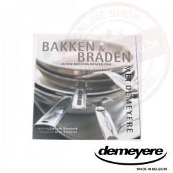 Demeyere boekje 'bakken & braden in een roestvrijstalen-pan'