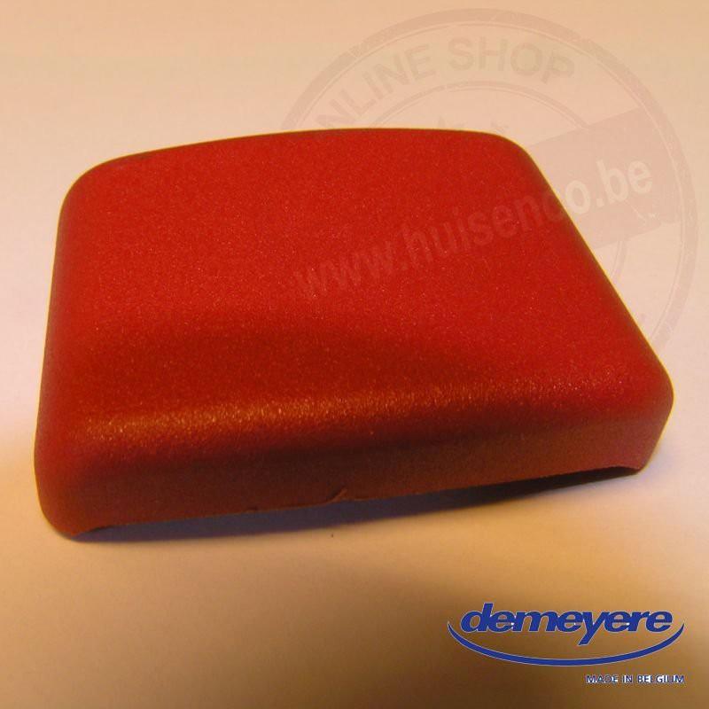 Rode (vierkante) knop (9307) voor snelkookpan 24cm