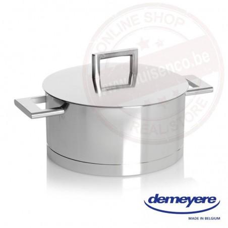 John Pawson for Demeyere kookpot 22cm 4.0l - met deksel