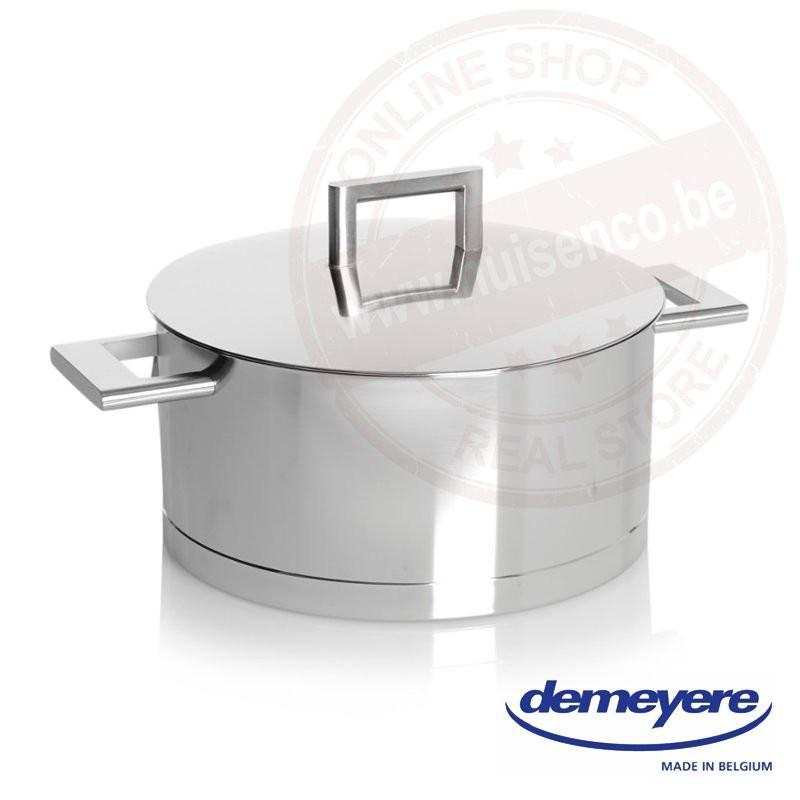 John Pawson for Demeyere kookpot 24cm 5.2l - met deksel