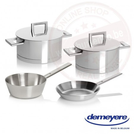 John Pawson for Demeyere kookset 4-dlg (met steelpan & bakpan)