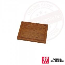 Snijplank, bamboe, klein 250 x 20 x 185 mm
