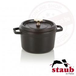 Staub ronde cocotte ø16cm 1.40l - zwart