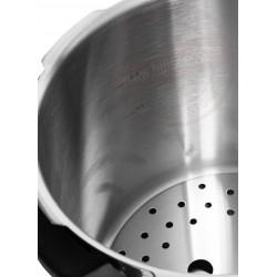Snelkookpan brinox 22cm 8l - met supergeleidende sandwichbodem