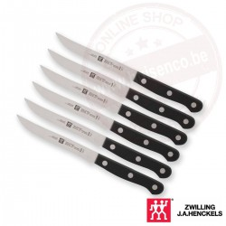 Zwilling twin gourmet 6 delig steakmessenset